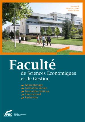 Plaquette Faculté de sciences économiques et de gestion