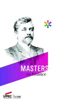 Master IAE mention finance : plaquette de présentation