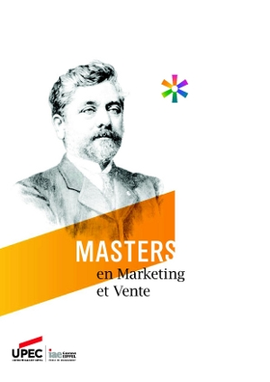 Master IAE mention marketing et vente : plaquette de présentation