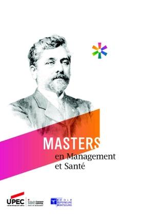 Master IAE mention management et santé : plaquette de présenation