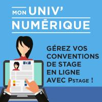 Mon Univ Numérique - Gérez vos conventions avec Pstage